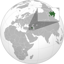 Description de l'image Azerbaijan (orthographic projection).png.
