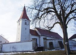 Böhmfeld im Landkreis Eichstätt Kath. Pfarrkirche.jpg