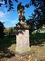 Běleč (KL), socha svatého Jana Nepomuckého.jpg