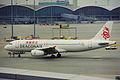 B-HSF A320-231 Dragonair HKG 01OCT99 (5821844709).jpg