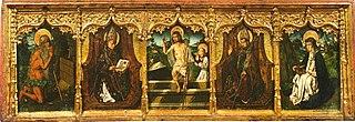 predella from altarpiece of Sainte Engratia