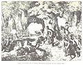 BACH(1898) p501 Kampf der Croten mit der Wiener Mobilgarde im Prater am 28.10.1848.jpg