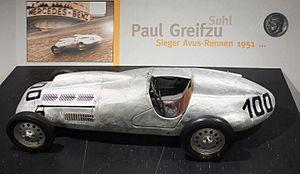 Paul Greifzu - Paul Greifzu's Formula 2 BMW (1951)