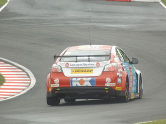 MG 6 - Sam Tordoff driving the MG 6, during the 2014 British Touring Car Championship