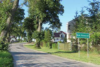 Buk Pomorski Village in Kuyavian-Pomeranian Voivodeship, Poland