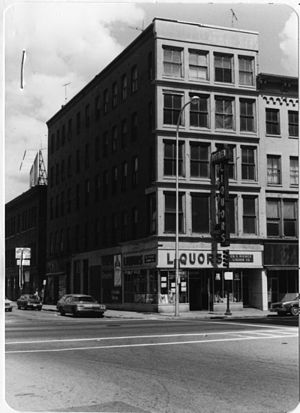 Babcock Block - c. 1977 photo