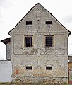 Babice, granary at No.11, gable.jpg