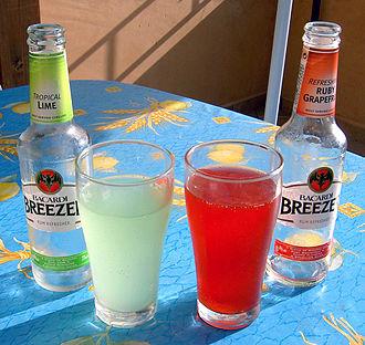 Alcopop - Two Bacardi Breezers