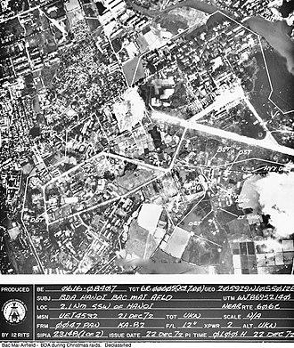 Bach Mai Airfield - Image: Bach Mai 21 December 1972