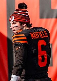 Baker Mayfield American football player