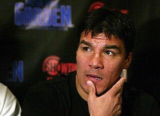 Carlos Baldomir Argentine boxer