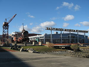 Baltimore Museum of Industry - Image: Baltimore Museum Of Industry From Quay