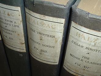 Père Goriot - 1901 edition of The Works of Honoré de Balzac, including Father Goriot
