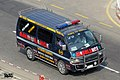Bangladesh civil Toyota Hiace H100 ambulance (24989062043).jpg