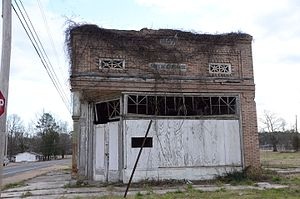 National Register of Historic Places listings in Dallas County, Arkansas - Image: Bank of Carthage