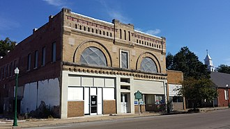 National Register of Historic Places listings in Mississippi County, Arkansas - Image: Bank of Osceola 001