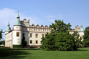 Teofila Ludwika Zasławska - Palace in Baranów owned consecutively with both of her husbands (1677–1720), where Teofila lived with her children