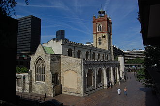 Fore Street, London - St Giles-without-Cripplegate