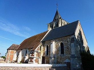 Barc, Eure - Image: Barc (Eure, Fr) église Saint Crépin Saint Crépinien (02)