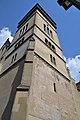 Bardejov, Bazilika svätého Egídia, veža, 2020.jpg
