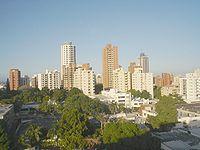 Torres al norte de Barranquilla.