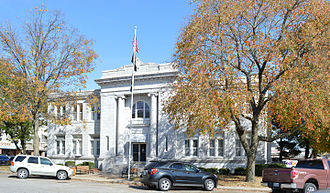 Barry County, Missouri - Image: Barry County MO Courthouse 20151022 097