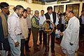 Barun Kumar Sinha - Inaugural Lamp Lighting - Atanu Ghosh Solo Exhibition - Kolkata 2013-12-05 4732.JPG