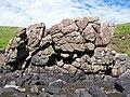 Basalt outcrop on the beach - geograph.org.uk - 1368031.jpg