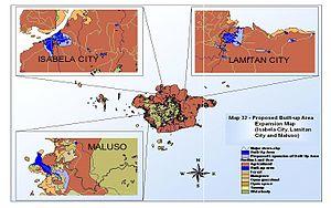 Basilan - Isabela City, Lamitan City and Maluso