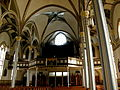 Basilica of Saint Francis Xavier (Dyersville, Iowa), interior, rear.jpg