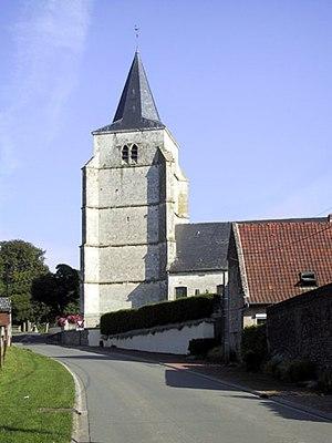 Basseux - The church