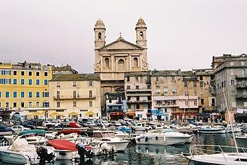 Bastia-st-jean-baptiste-church-harbour.jpg