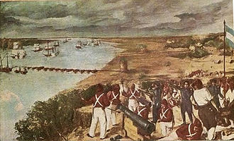 Anglo-French blockade of the Río de la Plata - Battle of Vuelta de Obligado