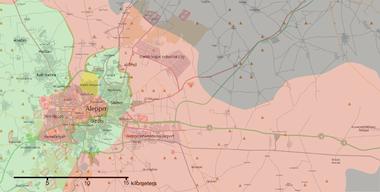 Battle Of Aleppo Wikipedia - Us civial war map wiki