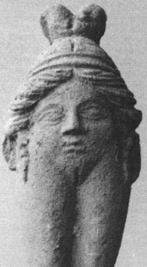 Baubo - A face-in-body Baubo figurine.