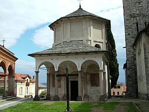 Baveno - The church retains its ancient dedication to Ss Gervasio and Protasio