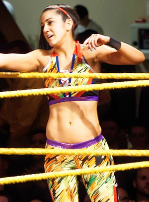 NXT TakeOver: Brooklyn - Bayley challenged for the NXT Women's Championship at the event.