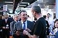 Bayrou at Solutions Linux 2007.jpg