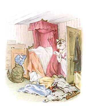 Beatrix Potter - The Tale of Tom Kitten - Illustration from p 77.jpg