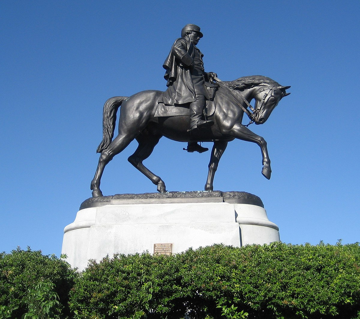General Beauregard Equestrian Statue - Wikipedia