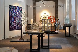 Feliciano Béjar - Exhibition of Béjar's works at the Museum of Light, Mexico City.