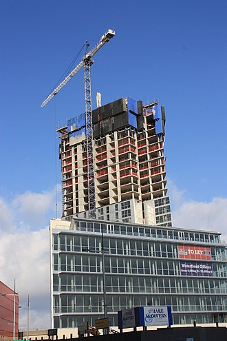 Obel Tower - Image: Belfast (050), October 2009