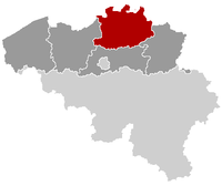 Location of Antuérpia