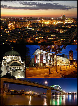 Skyline of Belgrad