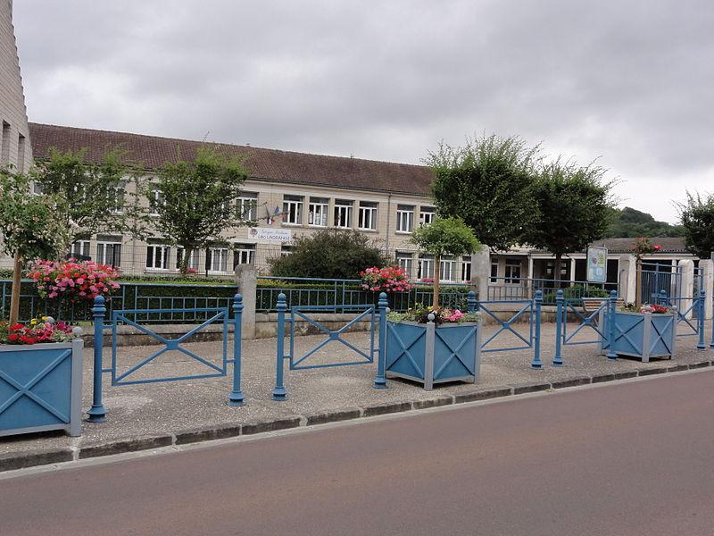 Belleu (Aisne) école Léo Lagrange