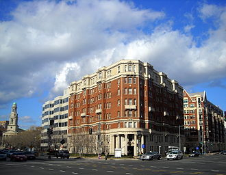 Massachusetts Avenue (Washington, D.C.) - Intersection of 13th Street and Massachusetts Avenue, NW near Thomas Circle