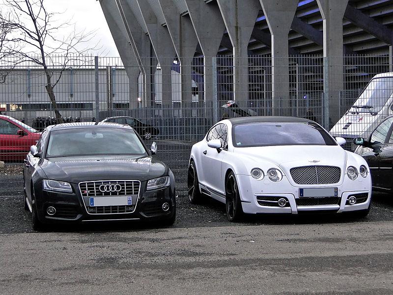 Bentley Mansory GT63 & Audi S5