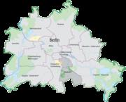 The location of Neukölln