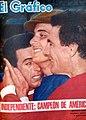 Bernao, Santoro y Navarro (Independiente Campeón de América) - El Gráfico 2376.jpg