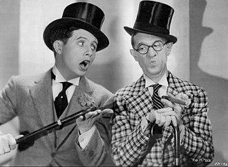 Wheeler & Woolsey - Image: Bert Wheeler Robert Woolsey Peach O Reno 1931